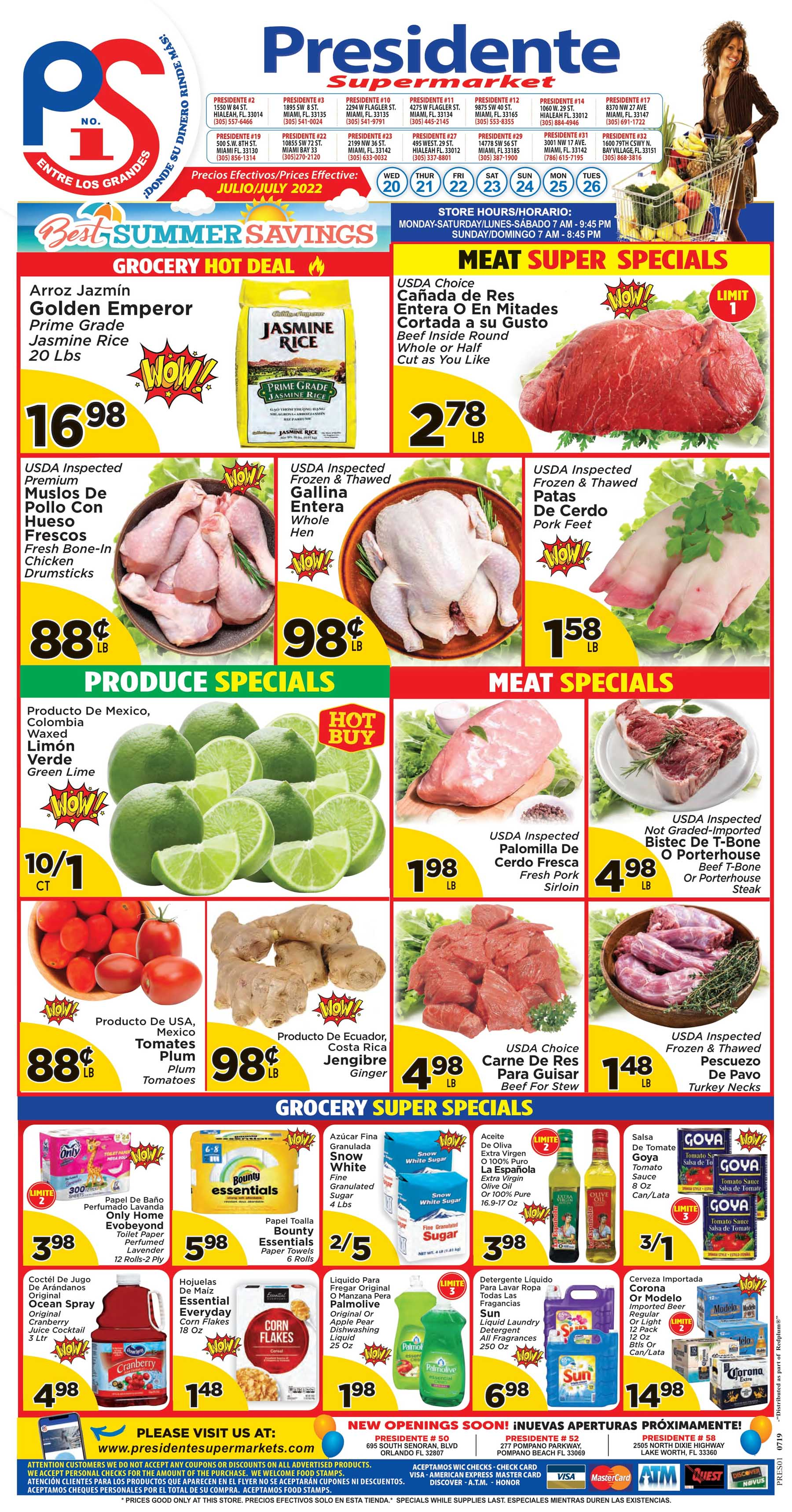 73890191335ae5 Weekly Promotions - Presidente Supermarkets